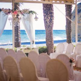 Outdoor wedding in Villajoyosa
