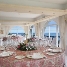 Beachfront wedding hall