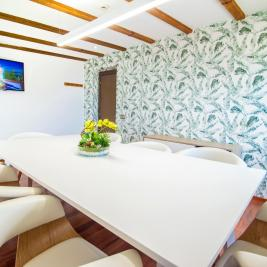 Eco Green Meeting Room