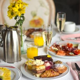 Charming breakfast