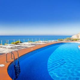 La Caleta pool with sea views