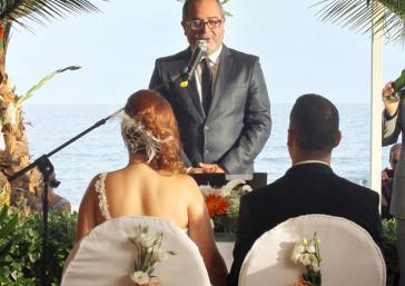 Maestro de ceremonias en el Hotel Servigroup Montíboli