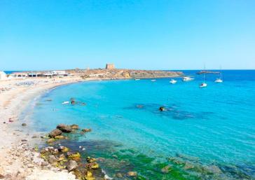 Tabarca Island in Alicante
