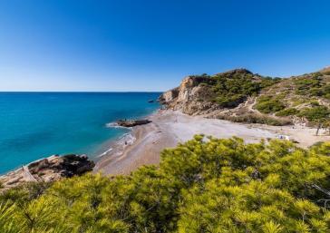 Acceso directo del Hotel Montiboli a la playa La Caleta