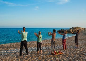 Practica Yoga en el Hotel Montíboli
