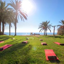 Jardins de Minarete de l'hôtel Montíboli