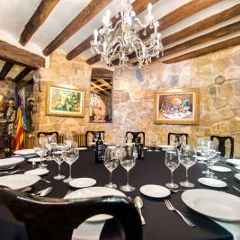 Salon Caballeros de l'hôtel Montíboli