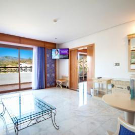 Salón de la Habitación Junior Suite