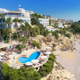 Hotel Montíboli y la Playa Esparrelló