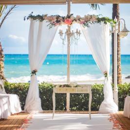 Decoración de bodas de playa