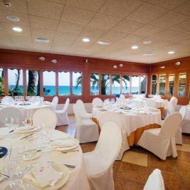 Salón para bodas en Hotel Montíboli