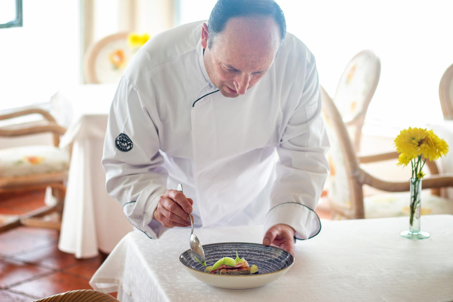 Our chef Jean Marc Sanz offers exquisite gastronomic proposals every year