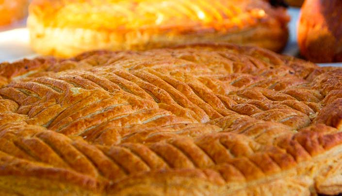 Puff pastry of the pastry of kings