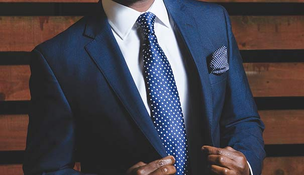 Male suit jacket