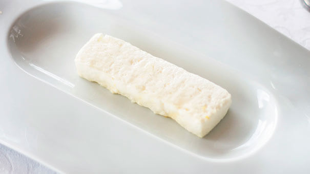 Fresh cheese mousse